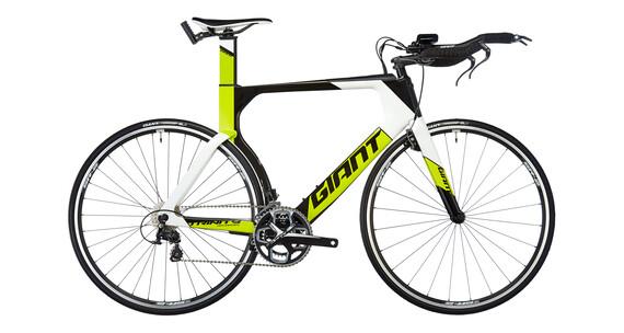 Giant Trinity Advanced Triathlon gul/sort